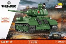 COBI T 34/85 / 3005 A / 500 blocks WWII Soviet tank Small Army  ,,,,