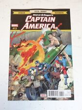 CAPTAIN AMERICA STEVE ROGERS #13 MARVEL COMICS MAY 2017 NM (9.4)