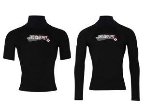 TBF THERMAL UV50 Rash Vest - Adults Unisex Rashie Top Fleece Lined Layer Warm