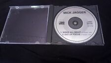 MICK JAGGER WIRED ALL NIGHT PROMO COMPACT DISC 2 TRACKS OUT OF Focus PRCD 5020