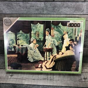 1000 Piece Jigsaw Puzzle Falcon DeLuxe The Rivals By James Jacques Tissot RARE