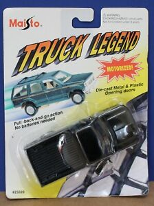 Maisto 25020 Truck Legend O 1:43 Ford F-150 Pickup G9 Black MOC 1994