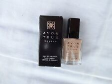 NEW + BOXED - AVON TRUE COLOUR NAILWEAR PRO+ NAIL ENAMEL VARNISH - NAKED TRUTH