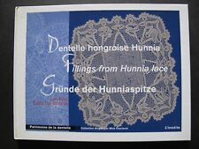DENTELLE HONGROISE HUNNIA - Fillings from Hunnia Lace - Lacemaking Manual
