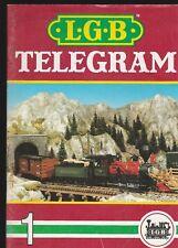 LGB GERMAN MODEL RAILROAD COMPANY(LEHMANN-GROSS-BAHN) 2 1989 CATALOGS