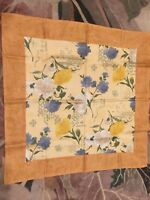 Tablecloth Spring Floral Polyester Square