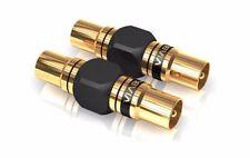 1 Coppia 2pz. Viablue XS Adattatore Antenna Spina Estensione Maschio