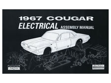 New 1967 Cougar Electrical Assembly Manual Wiring Diagrams GT XR7 Mercury Ford