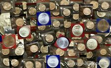 1968 thru 2015 P D S Jefferson Nickel Mint Set in OGP Lot of 100 with 1982 1983