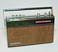 Vintage GRUNDIG Model TRANSISTOR 305 AM/FM Transistor 2-Band Radio TESTED