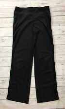 Nike Leggings Womens XS 0-2 Crop Capri Black Gray Stripe Flowers Black