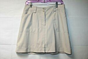 NIke Fit Dry Women's Beige Golf Skorts Size 6