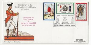Gibraltar 1972 - Bicentenary Royal Enginneers Freedom Of The City