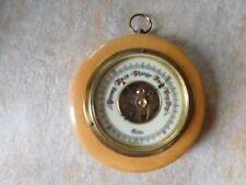 Vintage Round Forecaster Barometer Made in West Germany