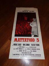 LOCANDINA Mattatoio 5 Slaughterhouse-Five 1972,George Roy Hill,Leibman: