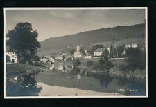 Switzerland TRAVERS General view early RP PPC