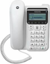 Motorola Corded Telephone with Caller ID, Answering Machine - CT610
