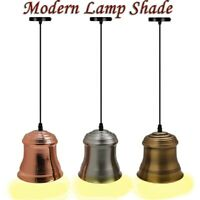 Metal Pendant Light Shade Industrial Retro Ceiling Colour Modern lighting Lamp