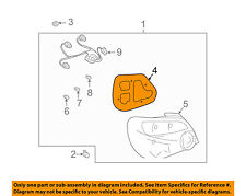 SUBARU OEM 04-05 Impreza Taillight Tail Light-Rear-Gasket Right 84940FE080
