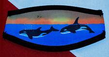 Mask Strap neoprene scuba diving equipment Gift snorkel gear orcas Model E fun