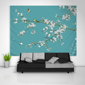 Chinese Painting Tapestry Wall Hanging Mandala Bedspread Indian Poster