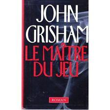 LE MAITRE DU JEU / John GRISHAM BEST SELLERS roman américain 1998 TTBE avocat