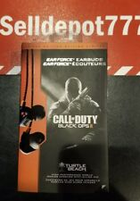 Turtle Beach Call of Duty: Black Ops II Ear Force Earbuds with In-Line  (Rare)