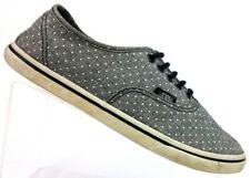 86d968950ed278 Vans Gray White Polka Dot Sneakers Athletic Lace Up TB4R Women s 7   EU 37
