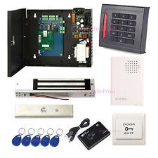 1 Door RFID Door Lock Access Control Systems EM-ID Keypad Reader Magnetic Lock