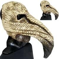 Halloween Masks Steampunk Beak Plague Doctor Cosplay Party Costume Fancy Props
