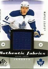 Nikolai Kulemin 10/11 SP Game Used Authentic Fabrics #AF-NK