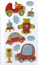 3D Epoxy Gel Stickers Transport for Scrapbooking sticker Album school