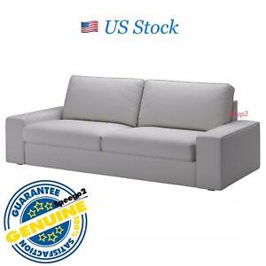 IKEA KIVIK 3 Seat Sofa Cover Slipcover Orrsta light gray Washable 102.786.72 NEW