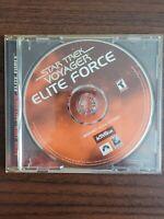 Star Trek Voyager ELITE FORCE, W/CD Key, 2000, Tested, No Manual