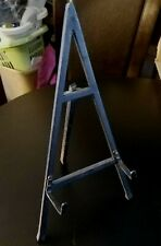 "Black Triangle 15"" Iron Easel; Painting/Picture/Photo/Frame Holder;Plate Display"