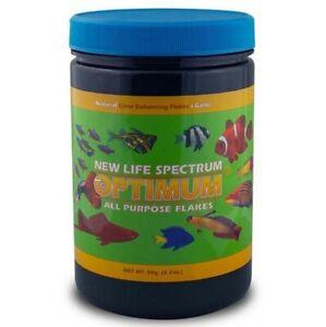 New Life Spectrum Optimum All Purpose Flakes Fish 90g Natural Color +Garlic NLS