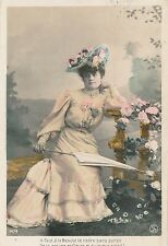 POSTCARD  GLAMOUR   French  Beauty
