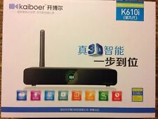 Built-in 3D Experience NEW GENUINE Kaiboer TV Box (开博尔 Internet Stream)