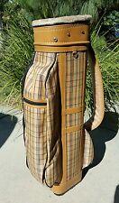 Hosanna Golf Cart Golf Bag Tan Vintage