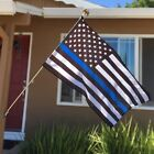 Quality Thin Blue Line American Police Flag 3X5' FADE Resistant Stars & Stripes