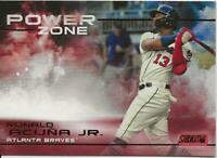 2019 Topps Stadium Club RONALD ACUNA JR. Power Zone SP RED FOIL #PZ-15 Braves