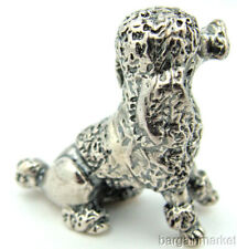 Sterling Silver French Poodle Dog Figurine #s54