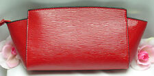 New Estee Lauder Evening Bag  Purse Makeup Cosmetic Tote Clutch Red