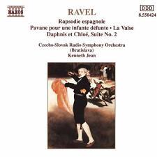 RAVEL: RAPSODIE ESPAGNOLE, LA VALSE, DAPHNIS ET CHLOE SUITE 2 ETC / KENNETH JEAN