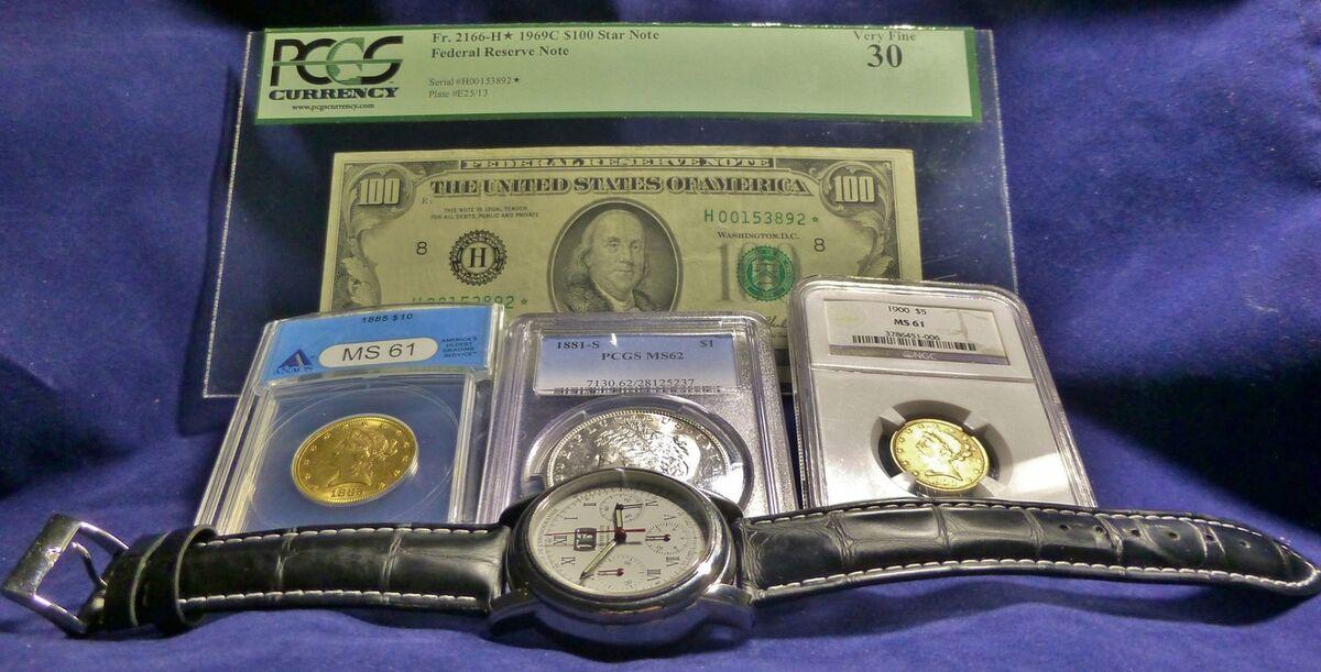 kcazzie2121 Gold Coins n Watches