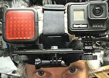 Hero7 Schwarz Nachtsicht Vollspektrum Ragecams Infrarot Licht Mod Stirnband Set