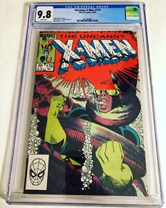 CGC 9.8 Uncanny X-Men #176 White Pages 1st appearance of Val Cooper