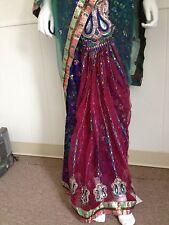 Indian-Pakistani-Bollywood Bridal Net and viscous easy to wear Lehenga saree