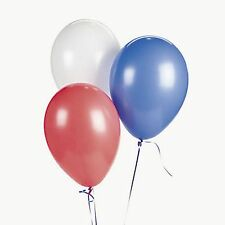 Patriotic Red White Blue Balloon Assortment (Lot Of 24) Party'S Event Decor