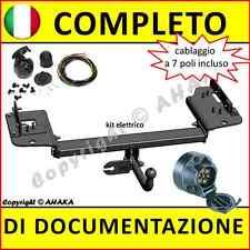 Gancio di traino fisso KIA Sportage 2004-2010 + kit elettrico 7-poli rimorchio